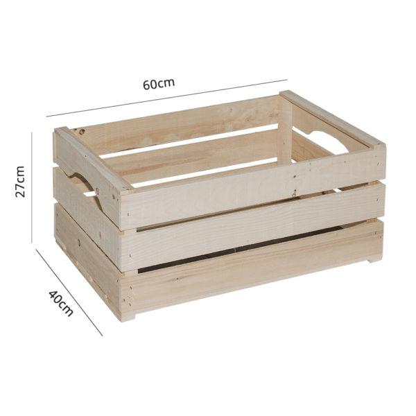 Cassettone in legno colore Neutro